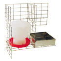 shop Feed & Water Kit for PT4022/KD/S Pigeon Trap PT/W/F/12 by SW Cage