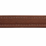shop Leather Collar Inside Stitching Detail