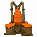 Filson Mesh Game Bag Vest  with Blaze Orange Trim