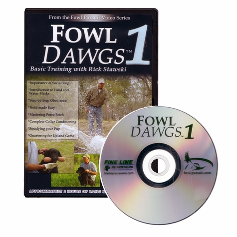 Fowl Dawgs Vol. 1 with Rick Stawski DVD