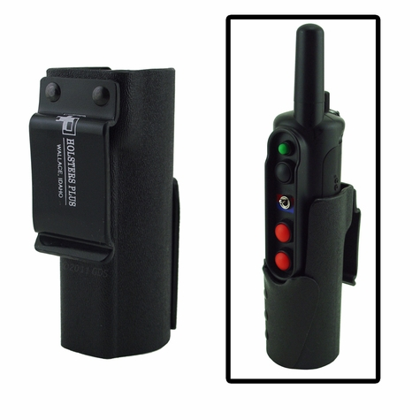 Front Facing Hardshell Transmitter Holster for Tri-tronics G3 / G2 Field & Pro - 1.5 in. Belt Clip