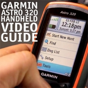 buy discount  Garmin Astro 320 DVD Handheld Video Guide
