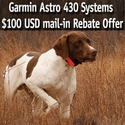 buy discount  Garmin Astro 430 and DriveTrack 70 LMT $100 Mail-in Rebate