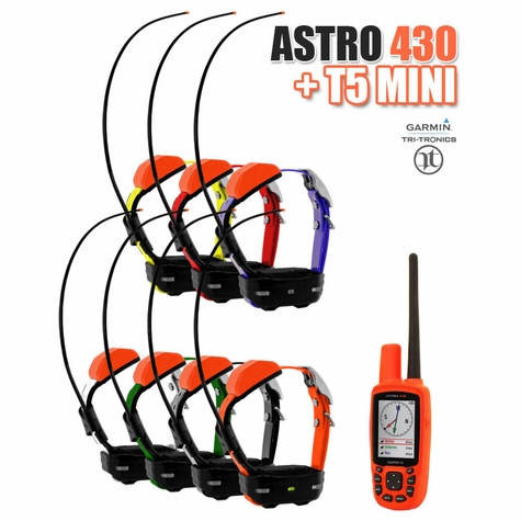 Garmin Astro 430 + T5 MINI COMBO 7-dog (GPS Tracking)