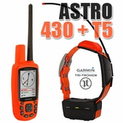 buy Garmin Astro 430 with T5 COMBO (1-dog GPS System) shock collars