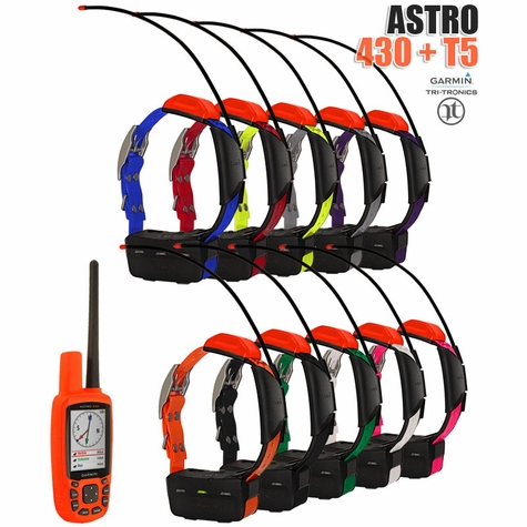 Garmin Astro 430 with T5 COMBO (10-dog GPS System)