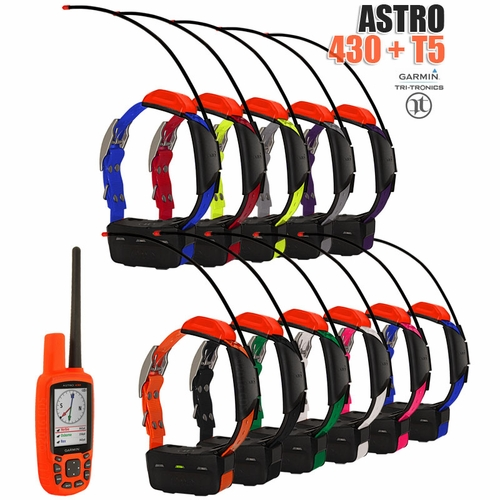 Garmin Astro 430 with T5 COMBO (11-dog GPS System)