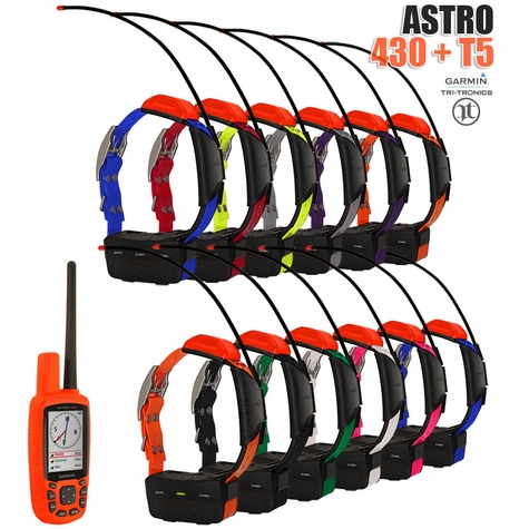 Garmin Astro 430 with T5 COMBO (12-dog GPS System)