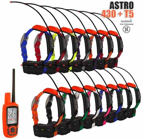 Garmin Astro 430 with T5 COMBO (15-dog GPS System)