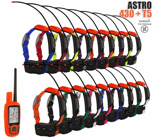 Garmin Astro 430 with T5 COMBO (18-dog GPS System)