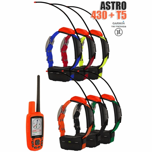 Garmin Astro 430 with T5 COMBO (6-dog GPS System)