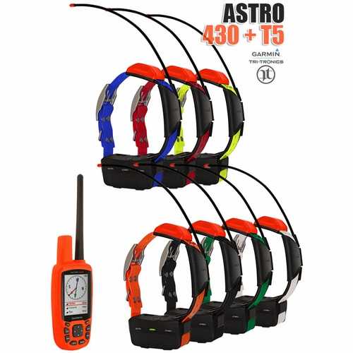 Garmin Astro 430 with T5 COMBO (7-dog GPS System)
