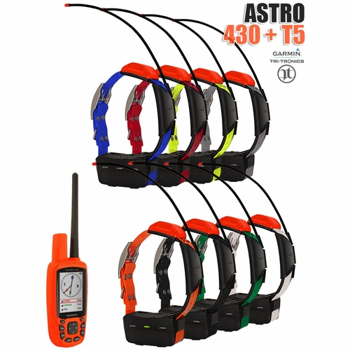 Garmin Astro 430 with T5 COMBO (8-dog GPS System)