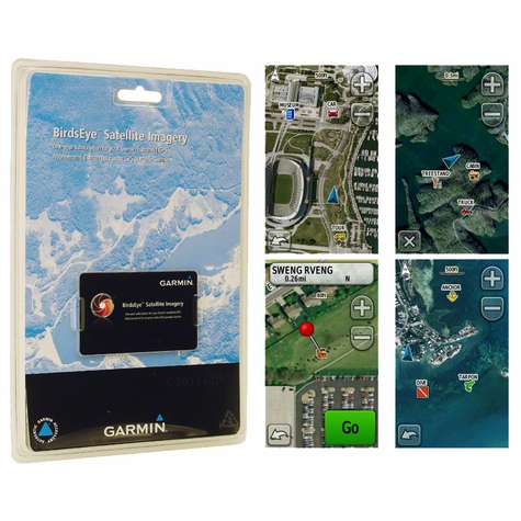 Garmin BirdsEye Satellite Imagery 1-year Subscription Card
