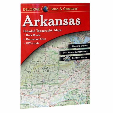 Garmin / Delorme Atlas & Gazetteer - Arkansas