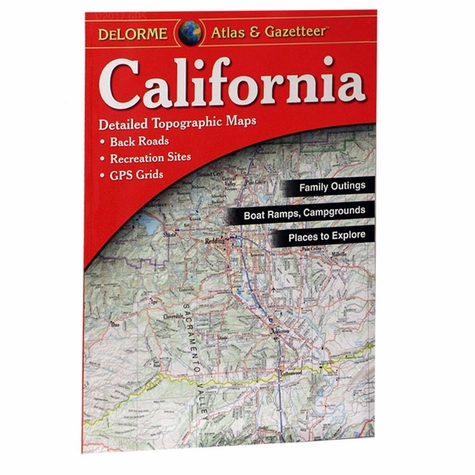 Garmin / Delorme Atlas & Gazetteer - California