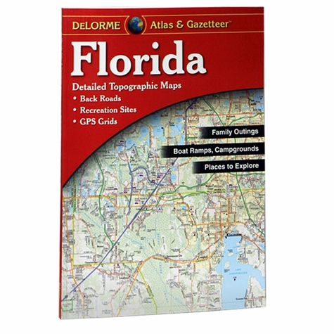 Garmin / Delorme Atlas & Gazetteer - Florida