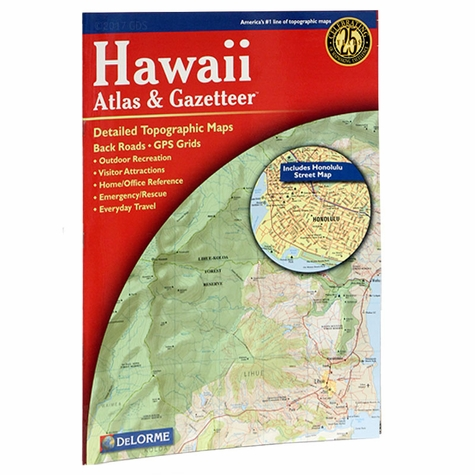 Garmin / Delorme Atlas & Gazetteer - Hawaii