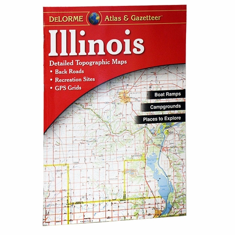Garmin / Delorme Atlas & Gazetteer - Illinois
