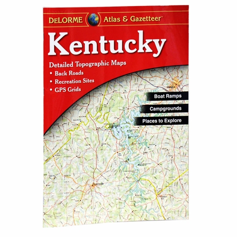 Garmin / Delorme Atlas & Gazetteer - Kentucky