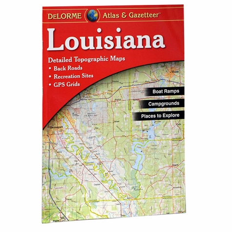 Garmin / Delorme Atlas & Gazetteer - Louisiana
