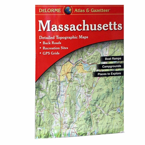 Garmin / Delorme Atlas & Gazetteer - Massachusetts