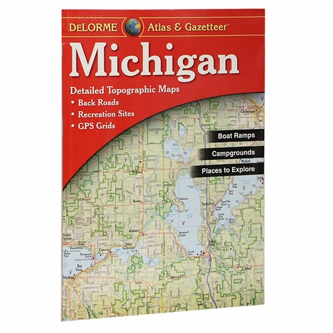 Garmin / Delorme Atlas & Gazetteer - Michigan