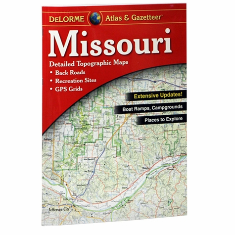 Garmin / Delorme Atlas & Gazetteer - Missouri