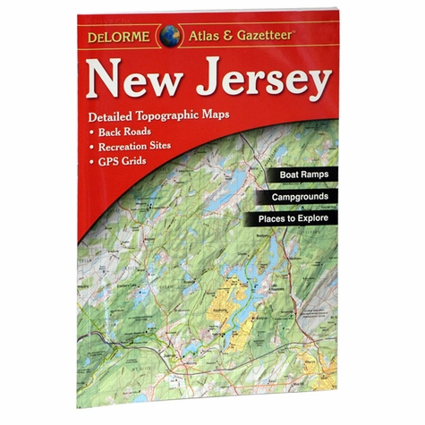 Garmin / Delorme Atlas & Gazetteer - New Jersey