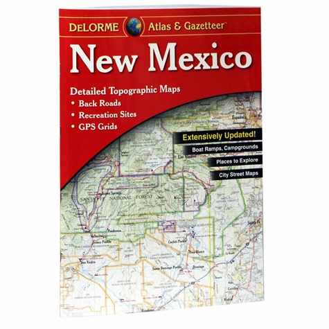 Garmin / Delorme Atlas & Gazetteer - New Mexico