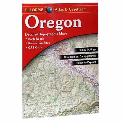 Garmin / Delorme Atlas & Gazetteer - Oregon