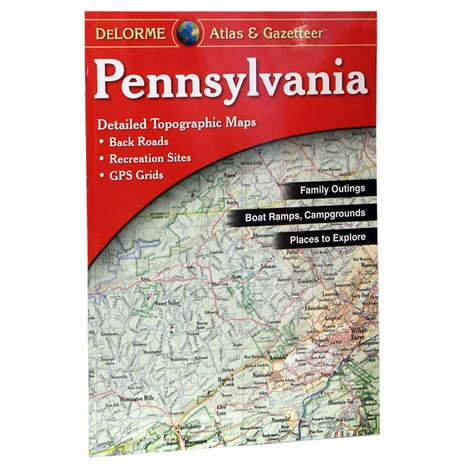 Garmin / Delorme Atlas & Gazetteer - Pennsylvania