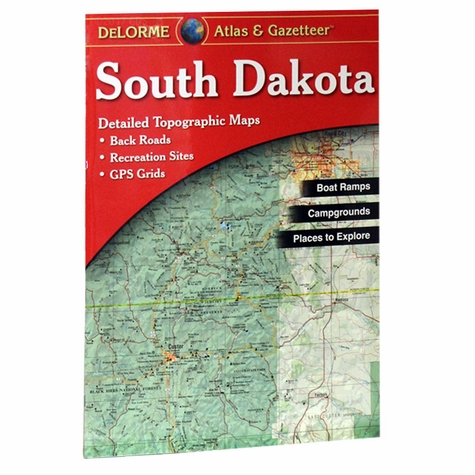 Garmin / Delorme Atlas & Gazetteer - South Dakota