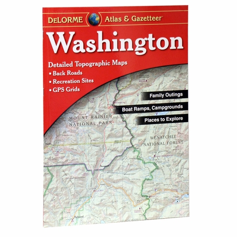Garmin / Delorme Atlas & Gazetteer - Washington
