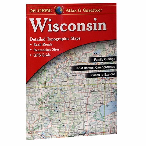 Garmin / Delorme Atlas & Gazetteer - Wisconsin
