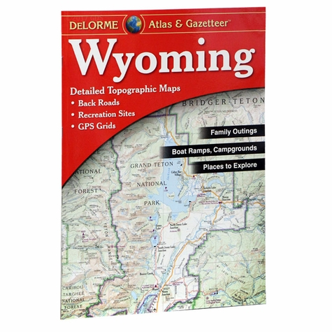 Garmin / Delorme Atlas & Gazetteer - Wyoming
