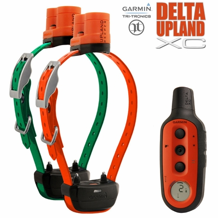 Garmin Delta UPLAND XC Remote Training Collar with Beeper 2-Dog