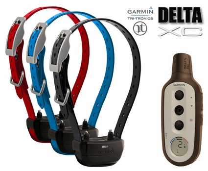 Garmin Delta XC Remote Training Collar 3-dog