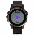 buy discount  Garmin Fenix 5S Sapphire GPS Watch -- Black with Black Band