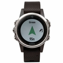 buy discount  Garmin Fenix 5S GPS Watch -- Silver with Black Band