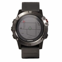 buy discount  Garmin Fenix 5X Sapphire -- Gray with Black Band