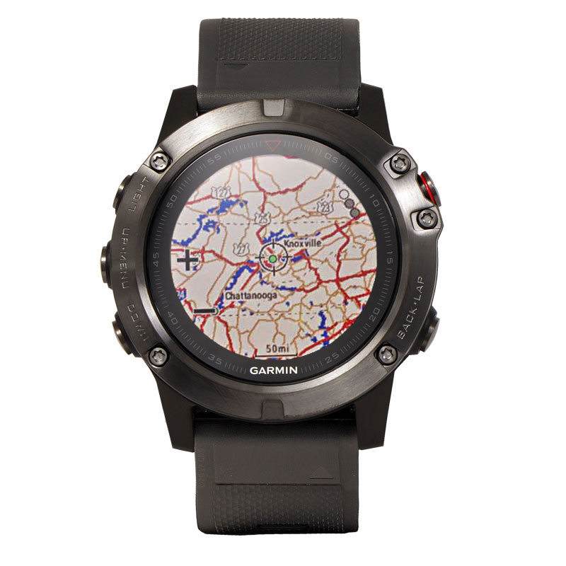 The First Garmin Fenix Watch With Built In Topo Maps