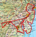 shop Garmin HuntView Map Card - Delaware, Maryland, New Jersey, and Washington D.C.