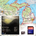 Garmin HuntView Map Card - Michigan