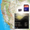Garmin HuntView Map Card - North California