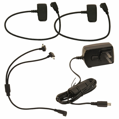 Garmin PRO / Alpha TT15 MINI / Astro T5 MINI Series Charging Kit -- 2 collars