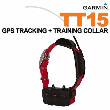 Garmin TT15 Additional GPS Dog Tracking / Training Collar