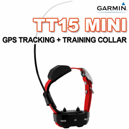 Garmin TT15 MINI Additional GPS Dog Tracking / Training Collar