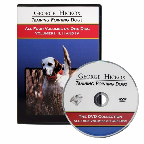 George Hickox Training Pointing Dogs: The DVD Collection of Volumes I through IV