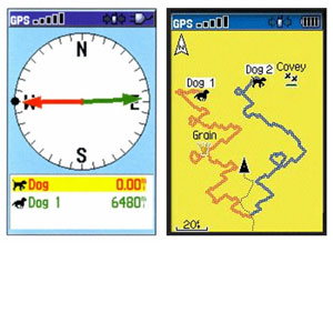 GPS Screens and Icons